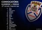 Convocatória | 37ª Jornada Segunda Liga