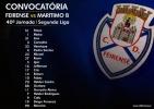 Convocatória | 40ª Jornada, Segunda Liga