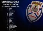 Convocatória | 38ª Jornada Segunda Liga